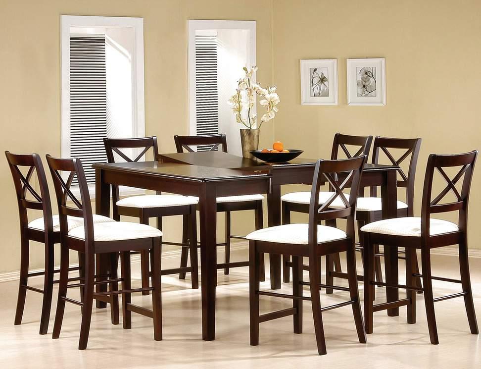 Mẫu bộ bàn ăn 8 ghế -  TC16122
