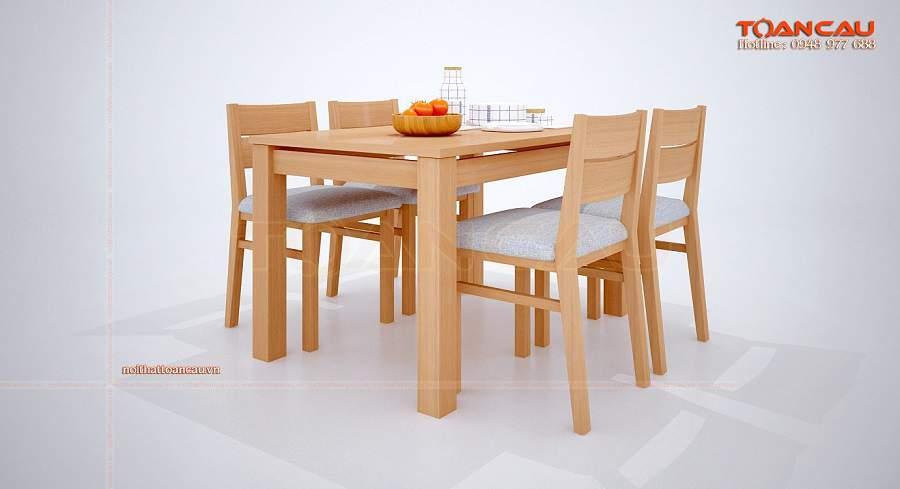 bộ bàn ăn cho phòng bếp nhỏ hiện đại