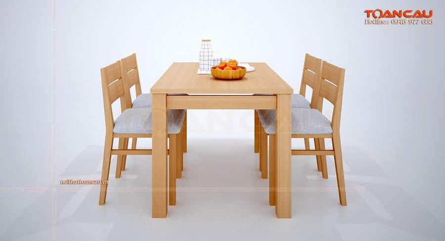 Bàn ghế ăn gỗ giá rẻ tại hà giang hiện đại