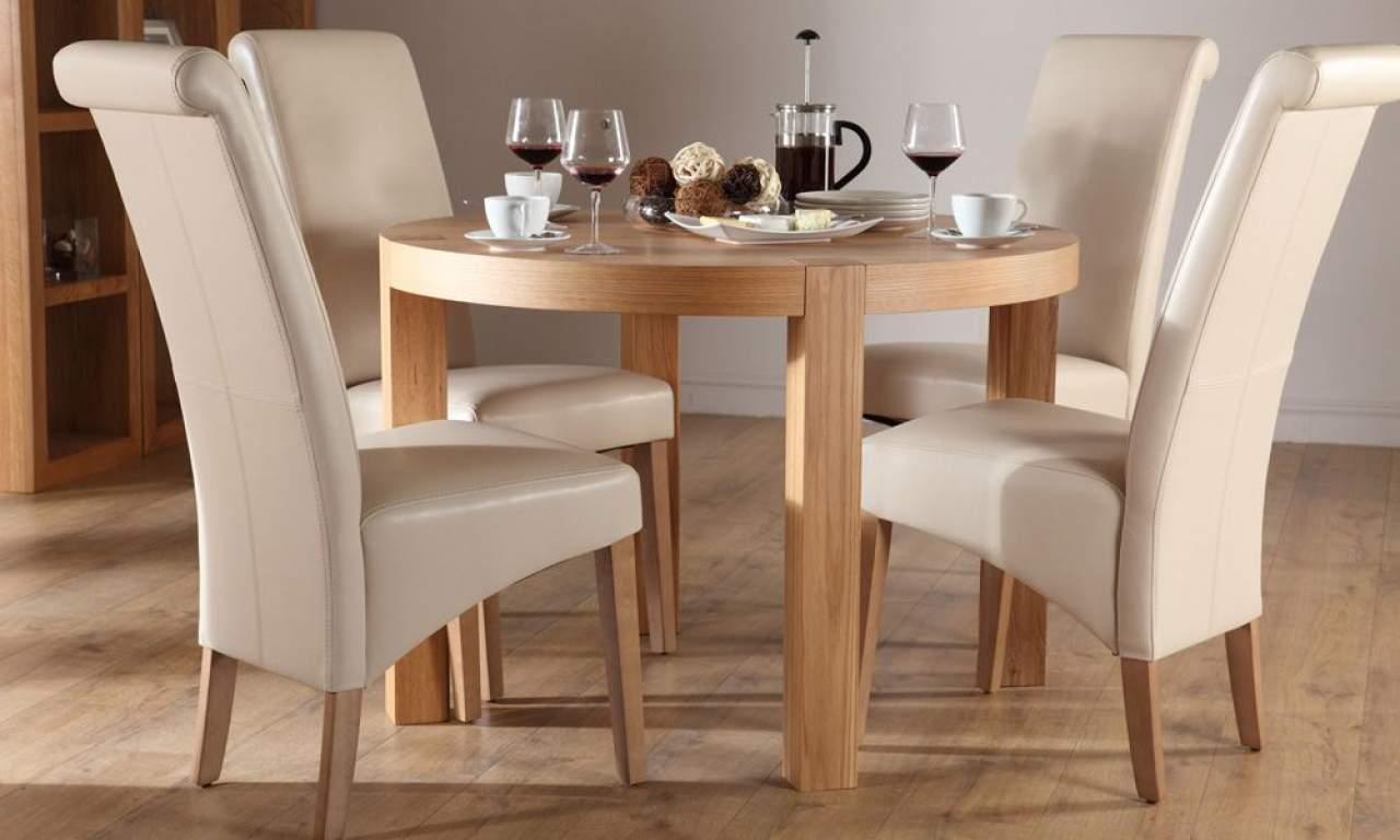 Mẫu bàn ăn gỗ cao su – TC13116