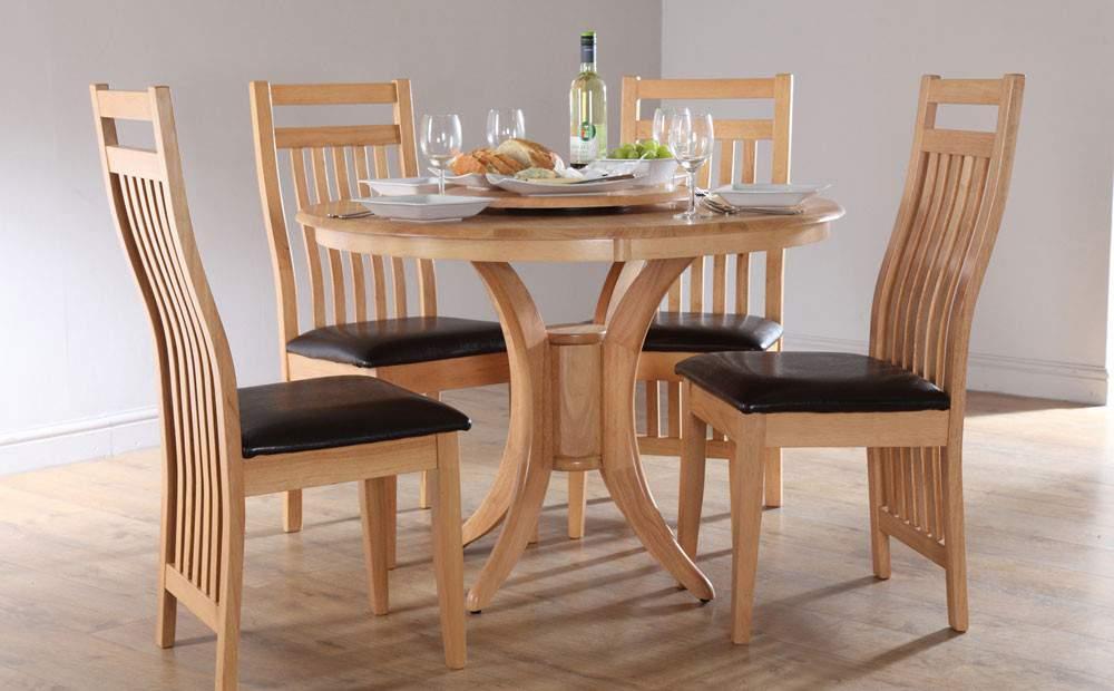 Bàn ghế ăn hình tròn – TC15194