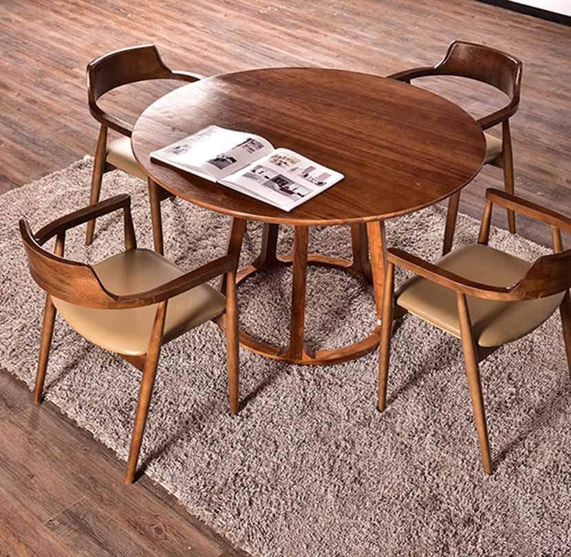 Bàn ghế ăn hình tròn – TC15197