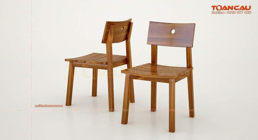 Những mẫu ghế cách điệu và bàn gỗ tấm lớn