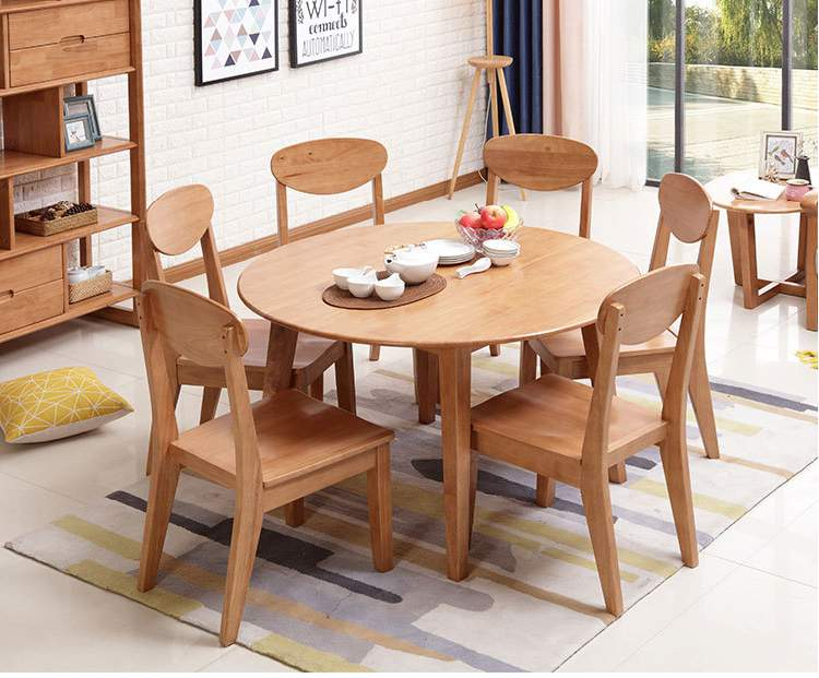 Bộ bàn ghế ăn hình tròn TC8071