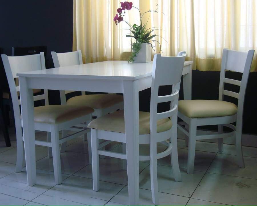 Mẫu bộ bàn ăn màu trắng – TC14141
