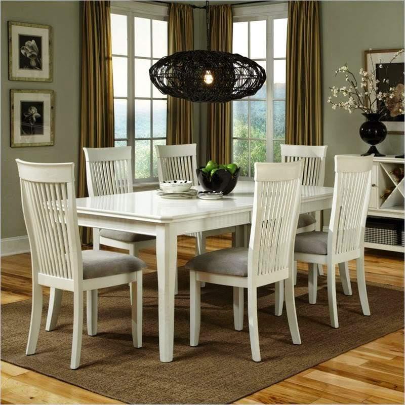 Mẫu bộ bàn ăn màu trắng – TC14143