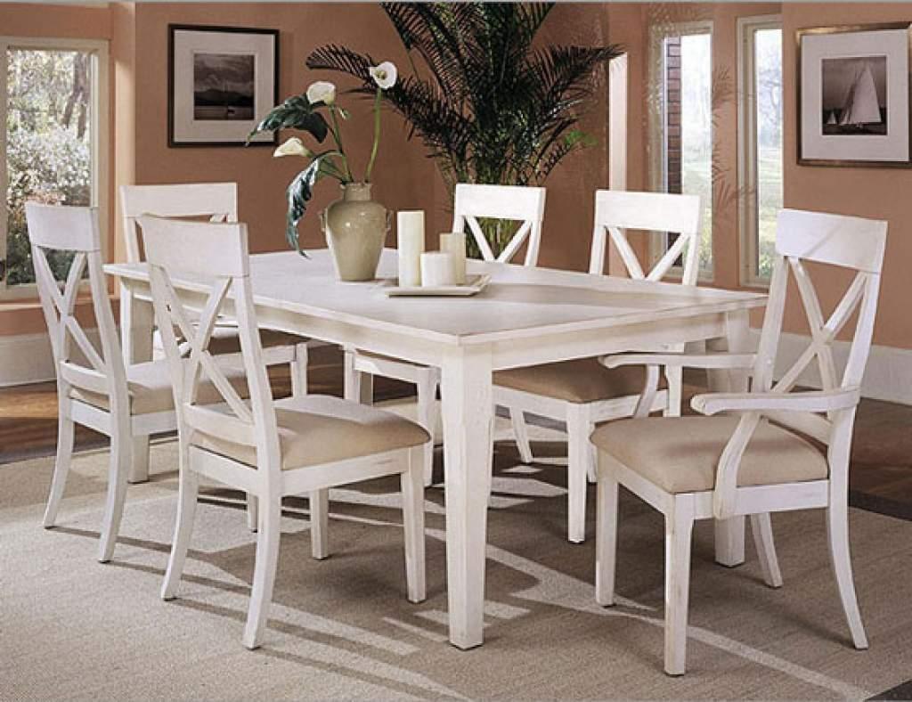 Mẫu bộ bàn ăn màu trắng – TC14144
