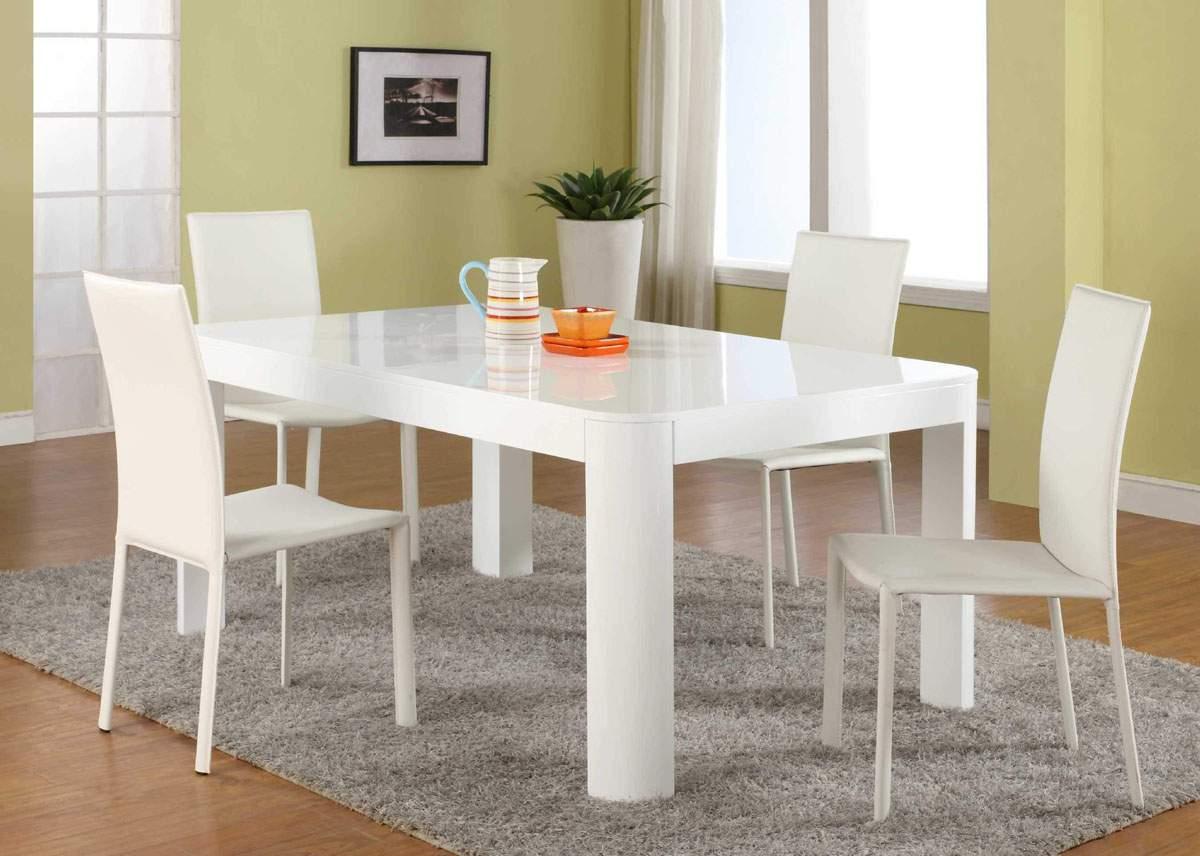 Mẫu bộ bàn ăn màu trắng – TC14146