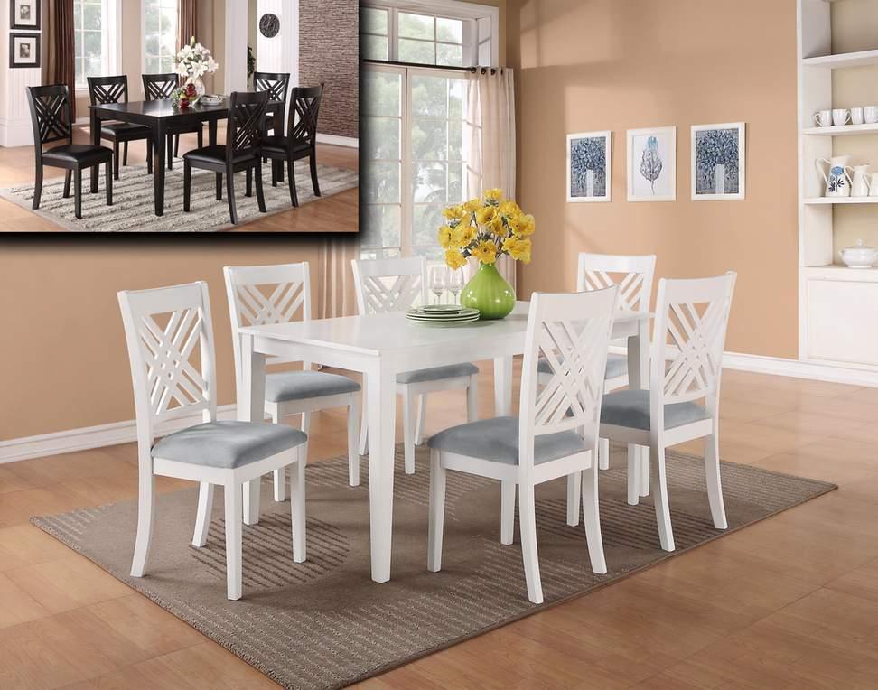 Mẫu bộ bàn ăn màu trắng – TC14148