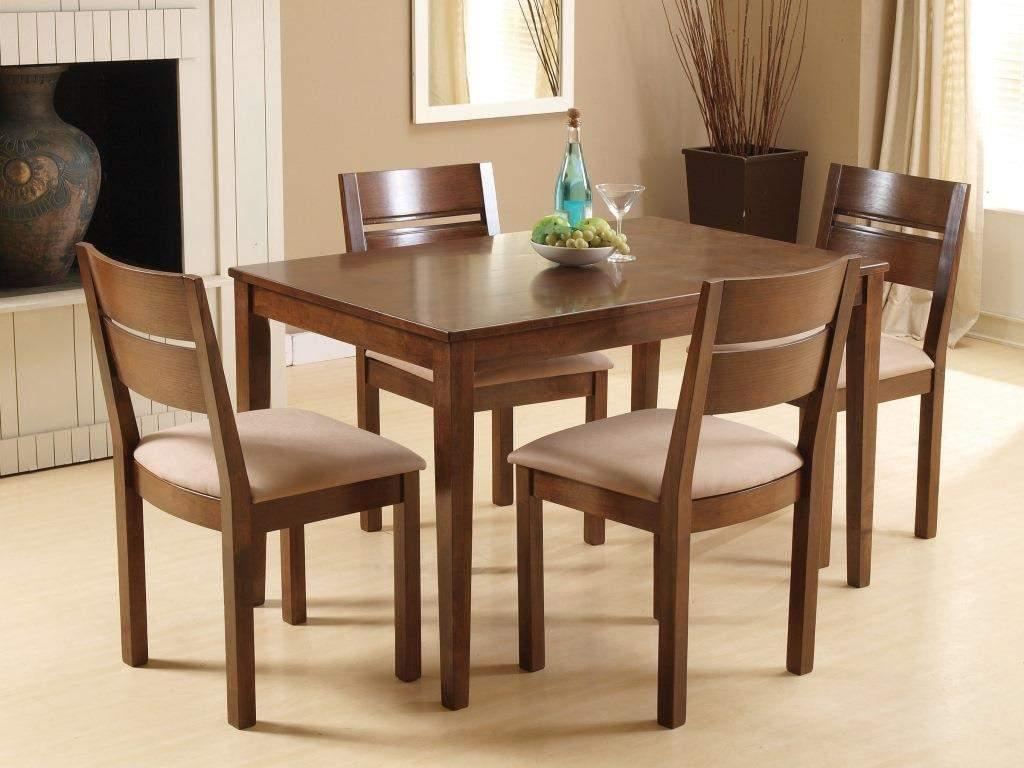 Mẫu bộ bàn ăn 4 ghế - TC19166