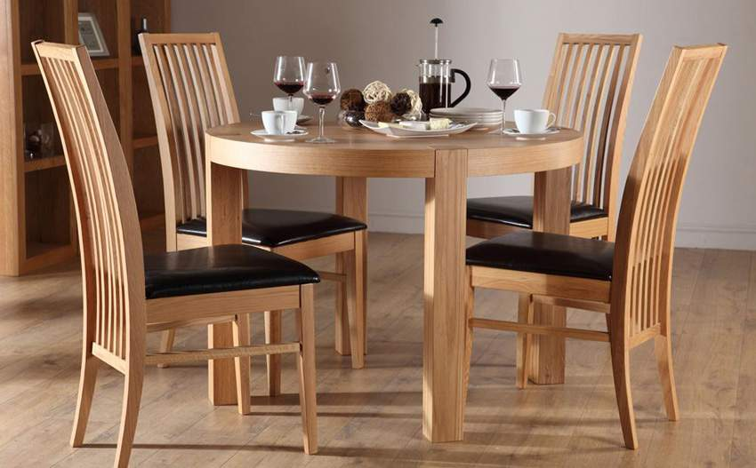 Mẫu bộ bàn ăn 4 ghế - TC19167