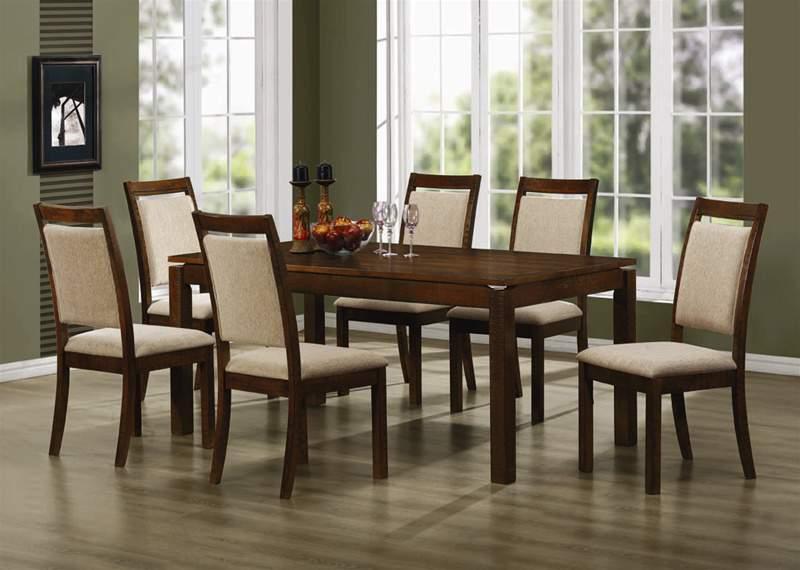 Mẫu bàn ghế ăn bằng gỗ cao cấp – TC17112