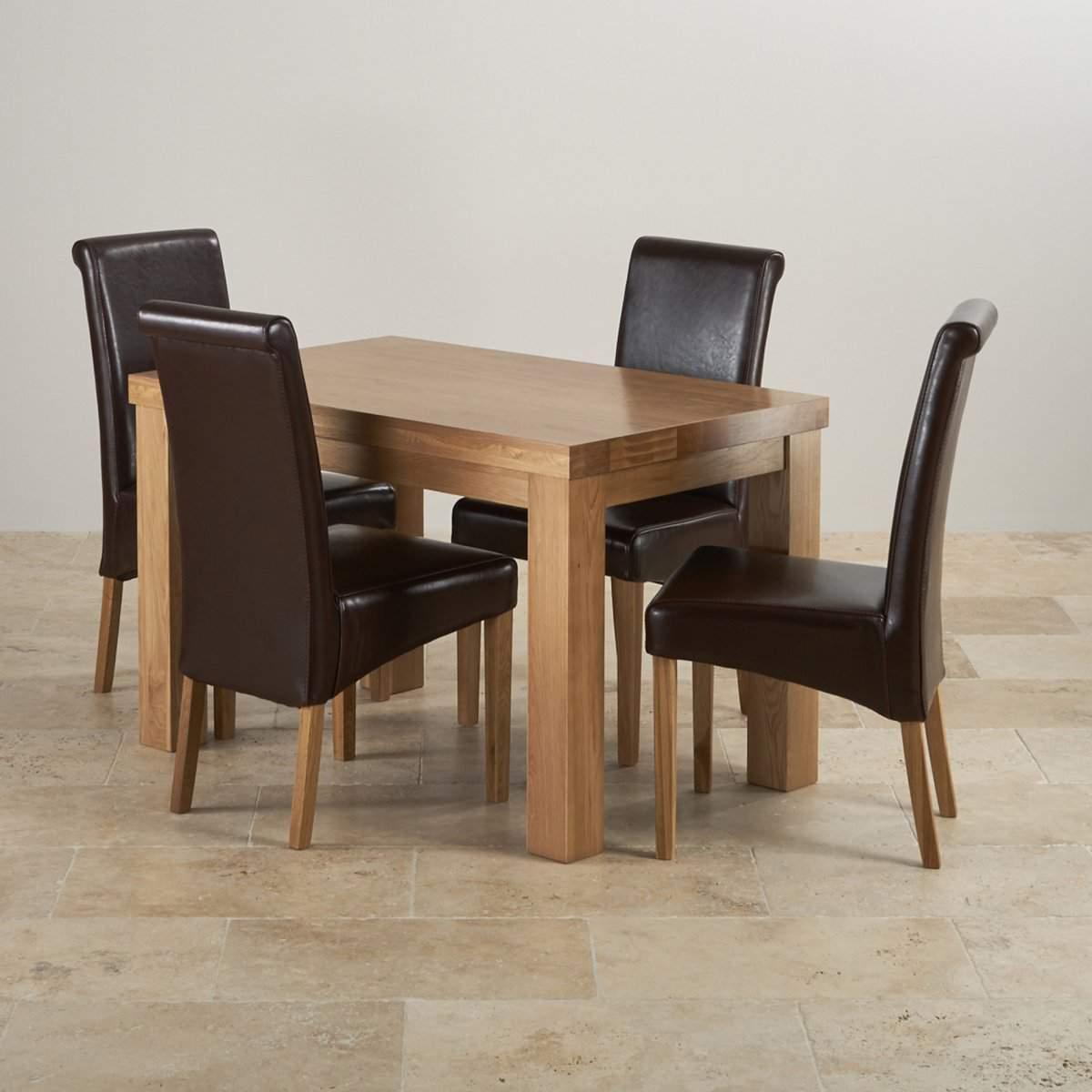 Mẫu bàn ghế ăn bằng gỗ cao cấp – TC17118