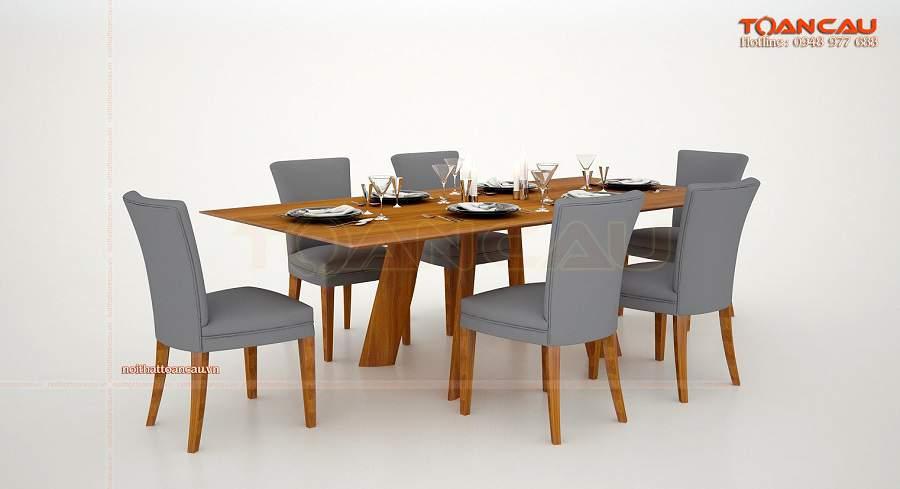 Mẫu bàn ăn đẹp cho nhà chung cư mới mẻ