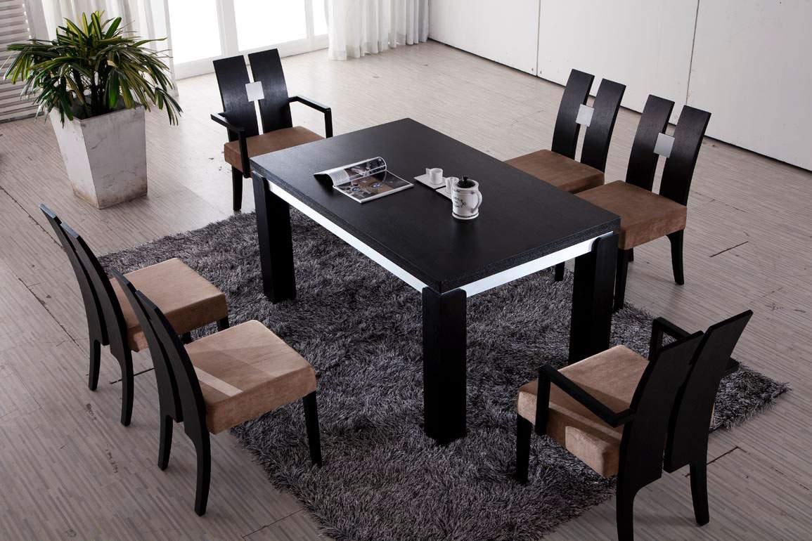 Mẫu bàn ăn gỗ công nghiệp – TC18195