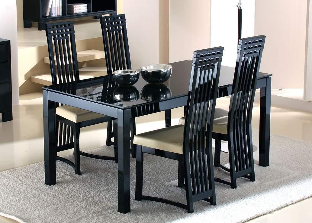 Mẫu bàn ăn gỗ công nghiệp – TC18196