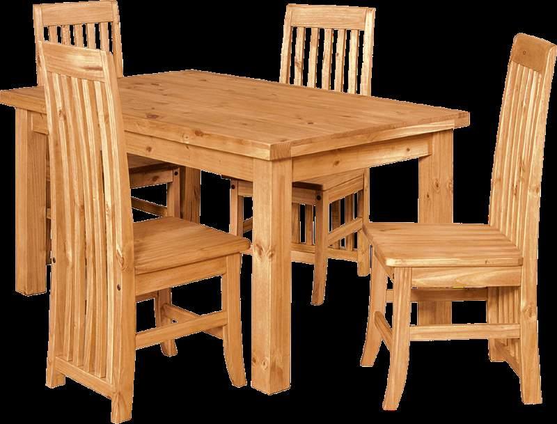 Mẫu bàn ghế ăn gỗ hương – TC19162