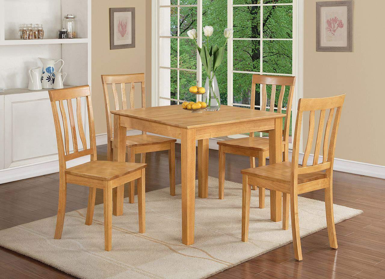Mẫu bàn ghế ăn gỗ hương – TC19165