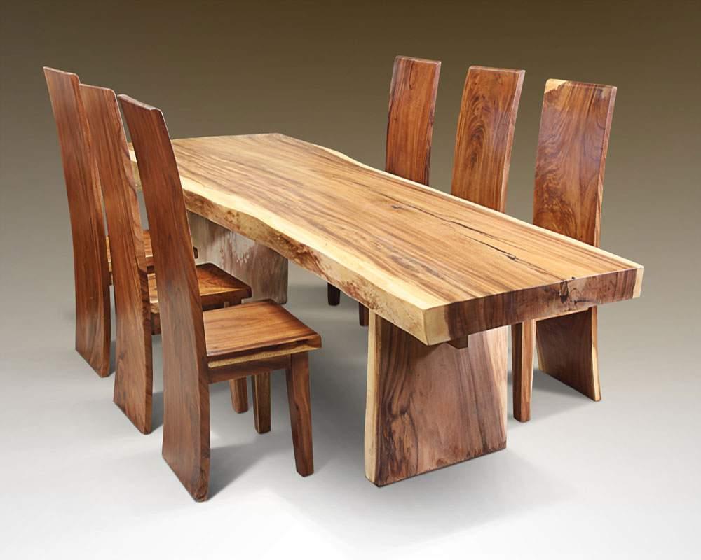 Mẫu bàn ghế ăn gỗ hương – TC19167