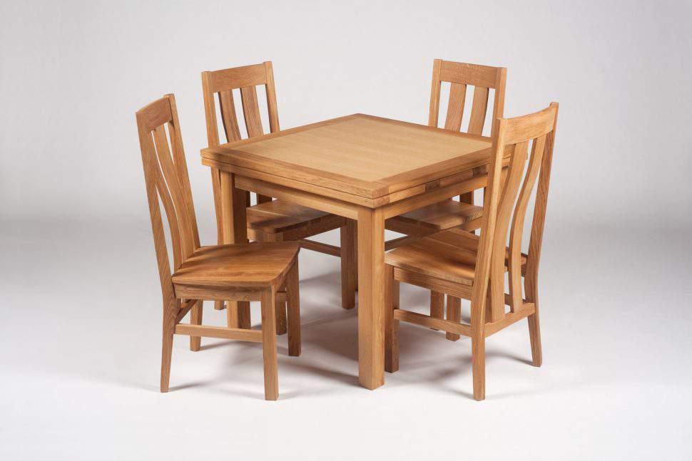 Mẫu bàn ghế ăn gỗ hương – TC19168