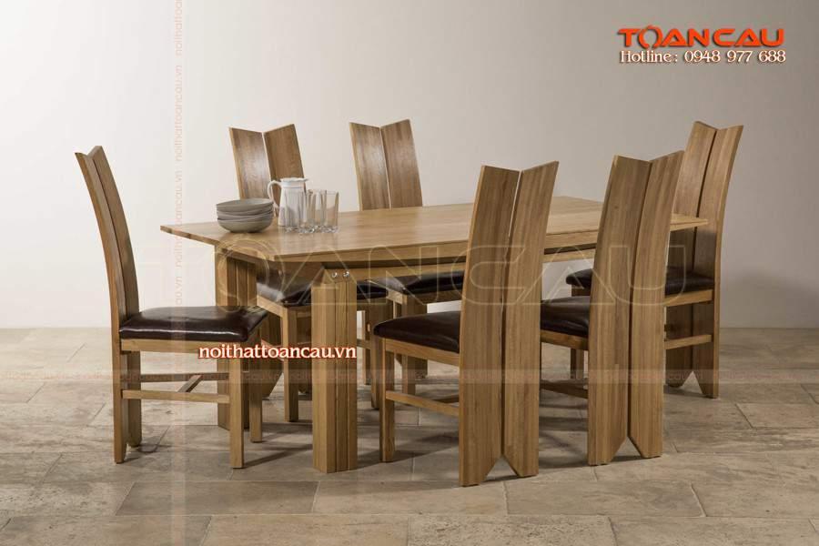 Chất liệu gỗ xoan đào hiện đại