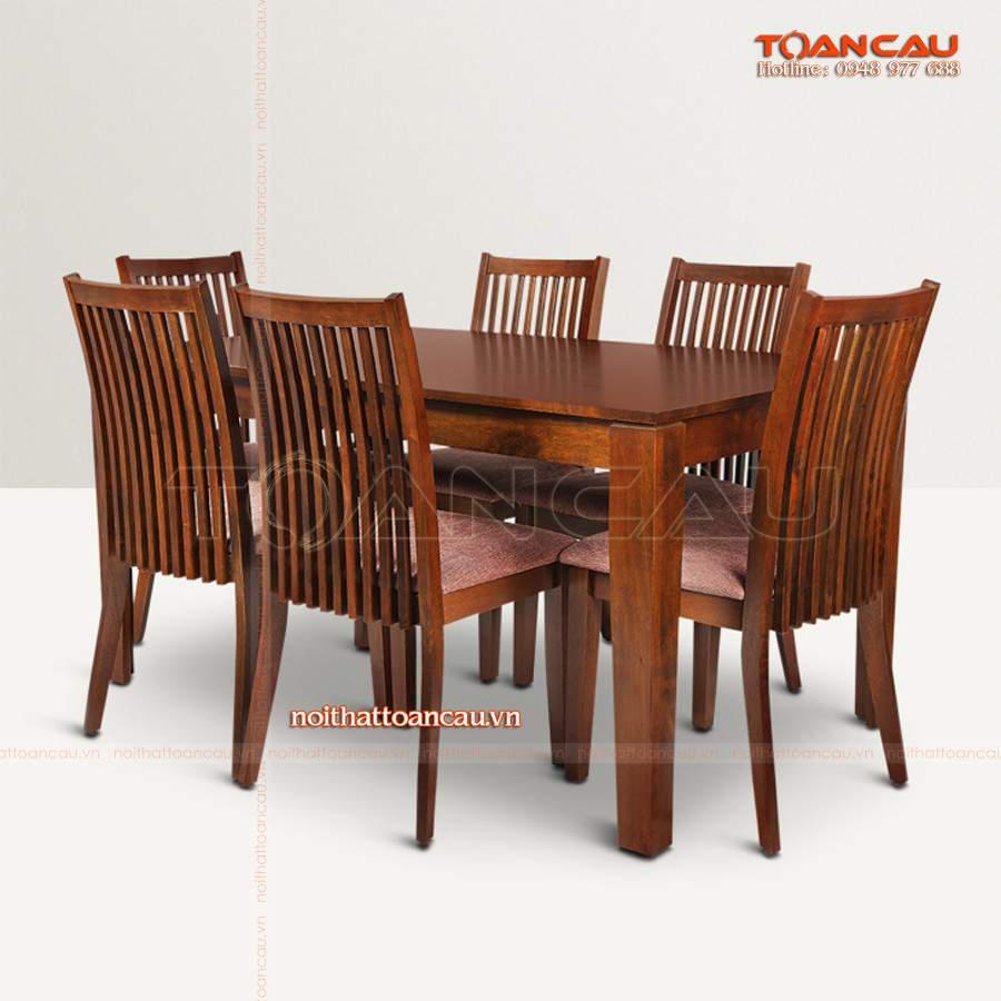 Mẫu bàn ghế gỗ tự nhiên thiết kế đẹp, hiện đại được cung cấp và phân phối tại Công ty nội thất Toàn Cầu.