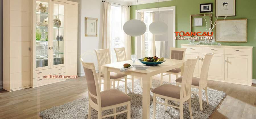 bàn ghế gỗ ăn cơm