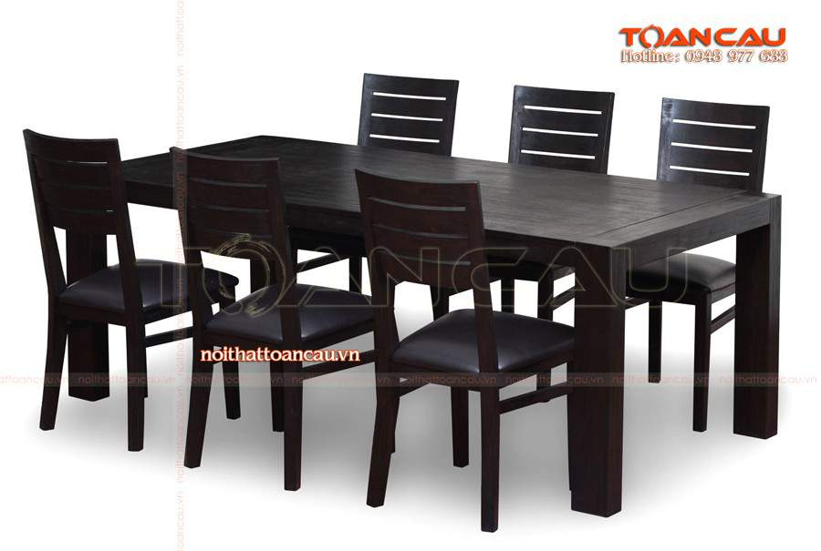 Bàn ghế ăn gỗ gụ tốt nhất bán với giá rẻ tại Toàn Cầu.