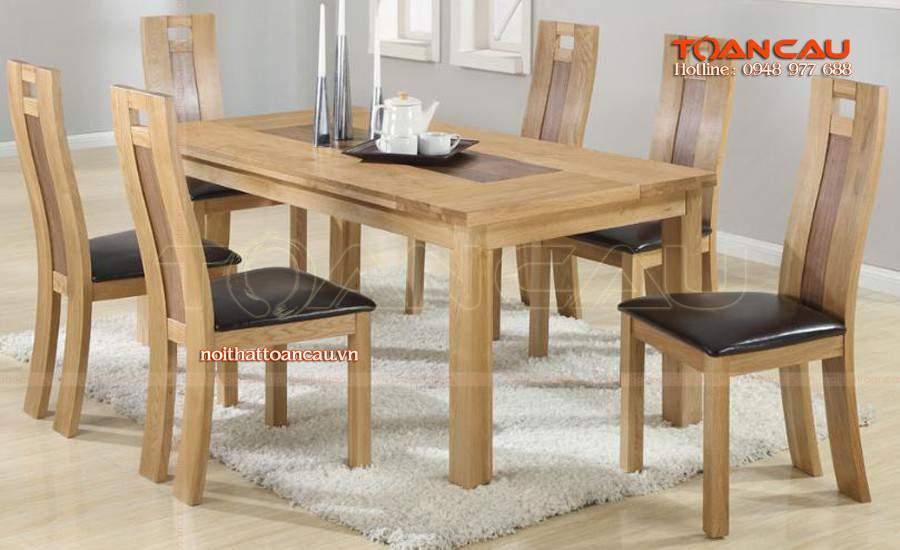 Những mẫu bàn ăn phù hợp với mọi nhà