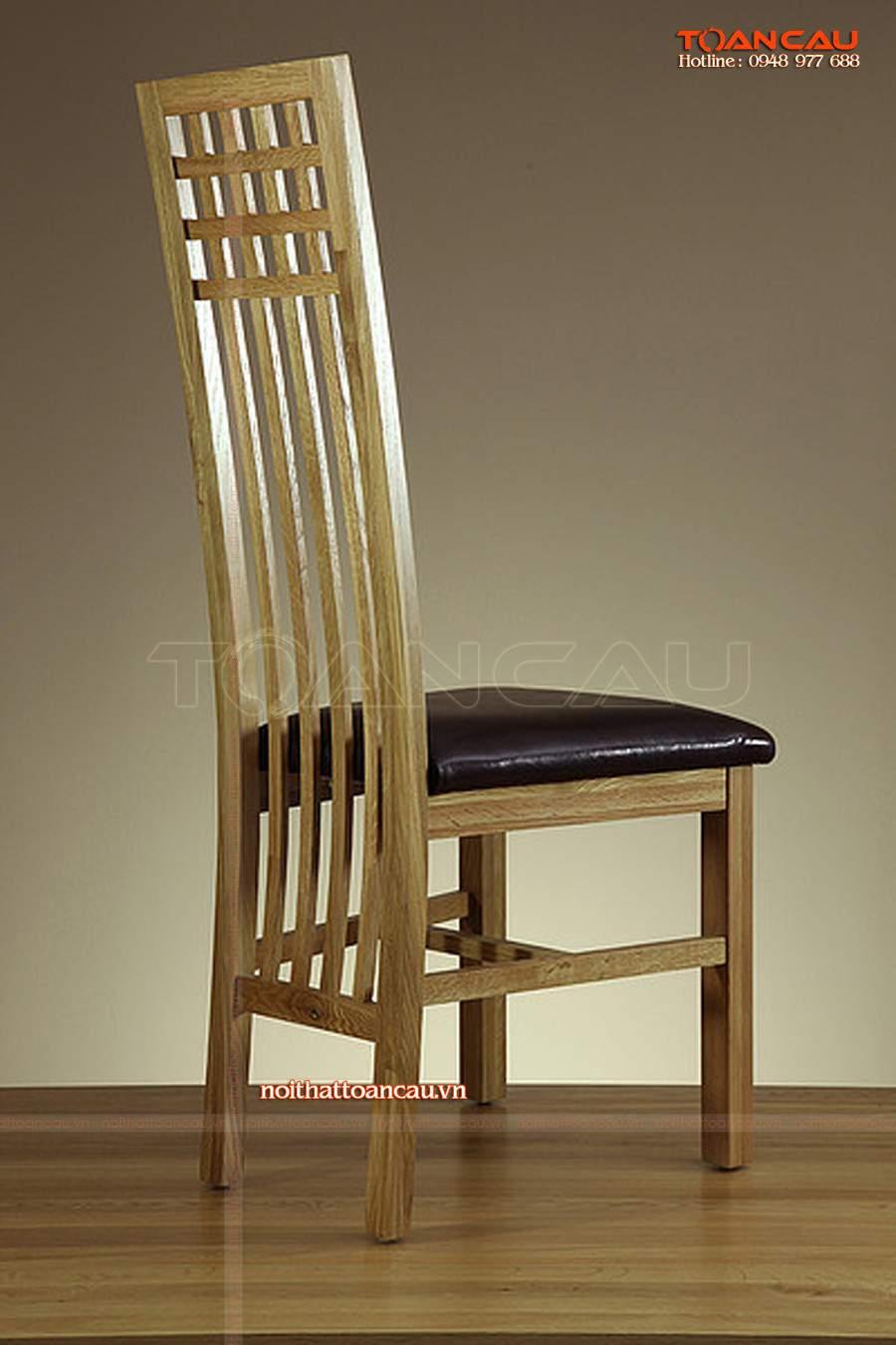 Ghế gỗ không thể thiếu đối với gia đình hiện đại