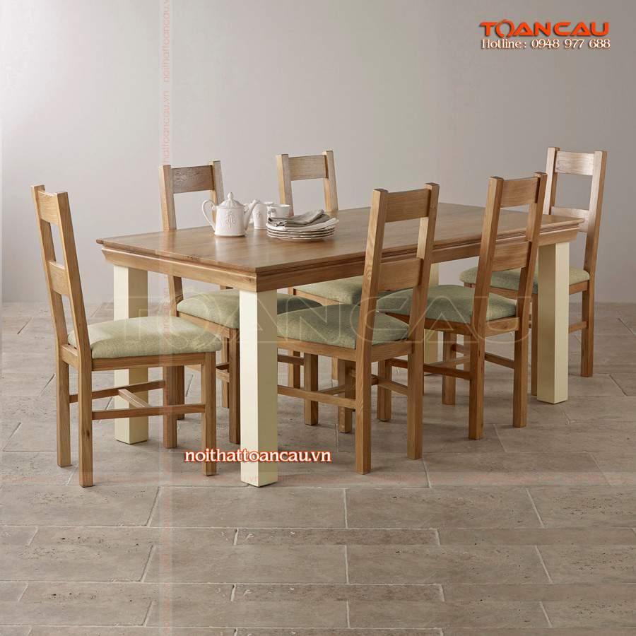 Mẫu bàn ghế làm bằng gỗ Sồi tốt nhất, bàn ghế thiết kế theo phong cách hiện đại, chất lượng bền nhất khi sử dụng