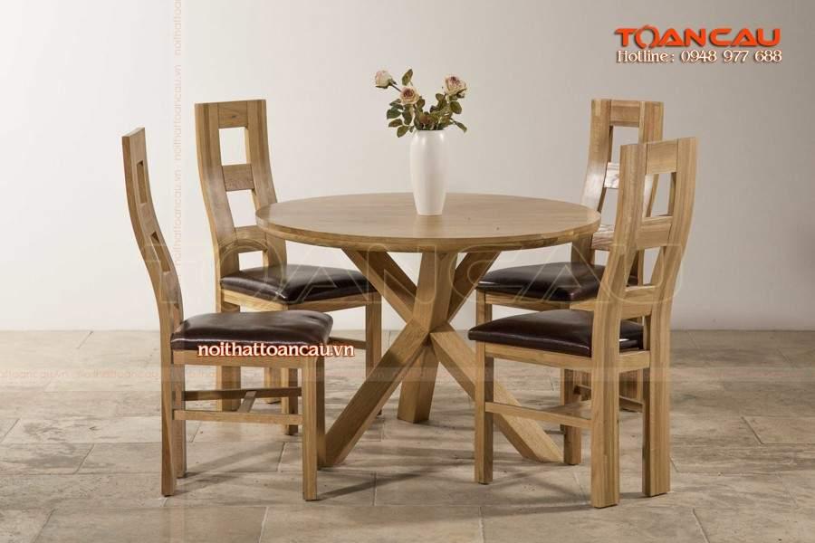 Bộ bàn ghế ăn sang trọng, bàn ghế ăn hiện đại giá rẻ
