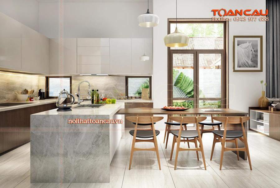 Bộ bàn ăn gỗ thiết kế và thi công tại nội thất Toàn Cầu với giá tốt nhất.