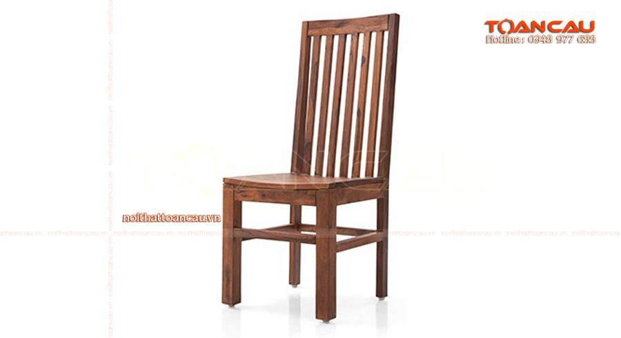 Ghế gỗ đảm bảo an toàn và chắc chắn khi sử dụng