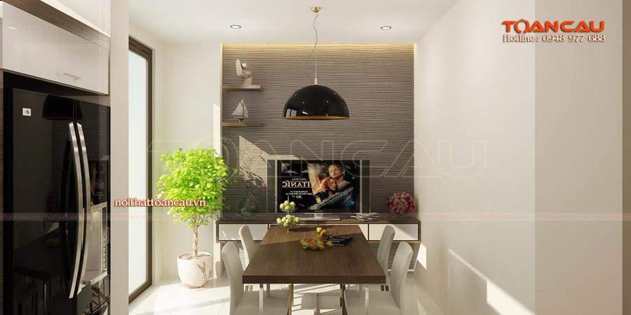 Những mẫu bàn ghế ăn cho chung cư nhỏ - T011, cách thiết kế hài hòa, phù hợp với không gian phòng ăn