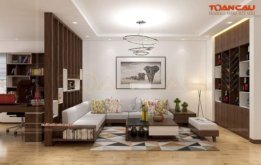 bàn ghế gỗ cho chung cư