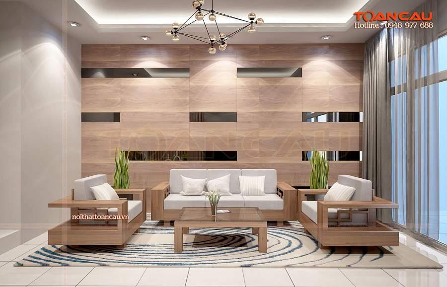 bàn ghế gỗ tông màu sáng