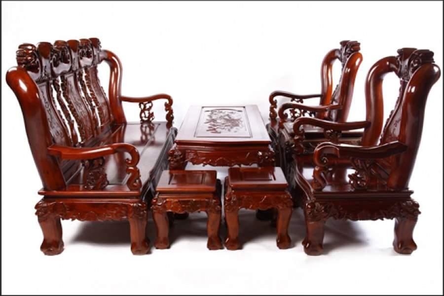 Mẫu bàn ghế gỗ cẩm lai – TC18136