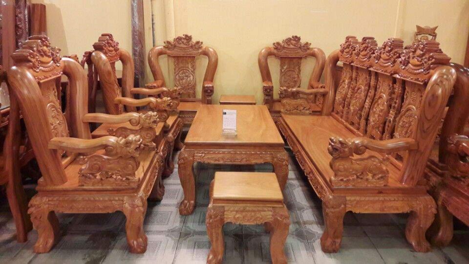 Mẫu bàn ghế gỗ căm xe - TC1423