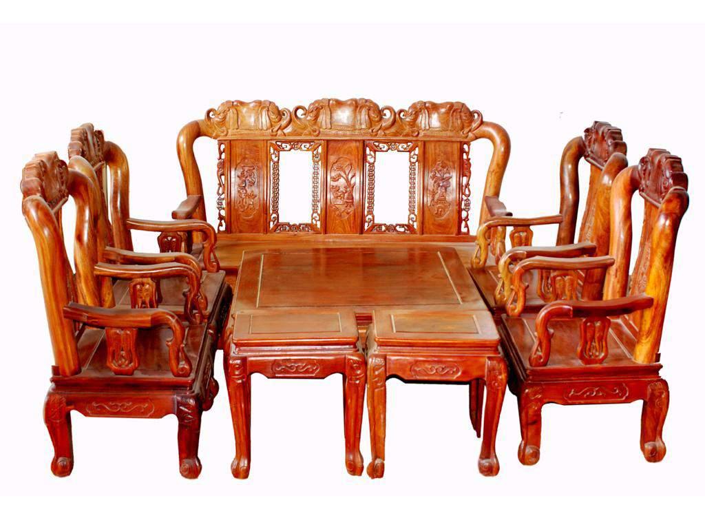 Mẫu bàn ghế gỗ căm xe – TC1424