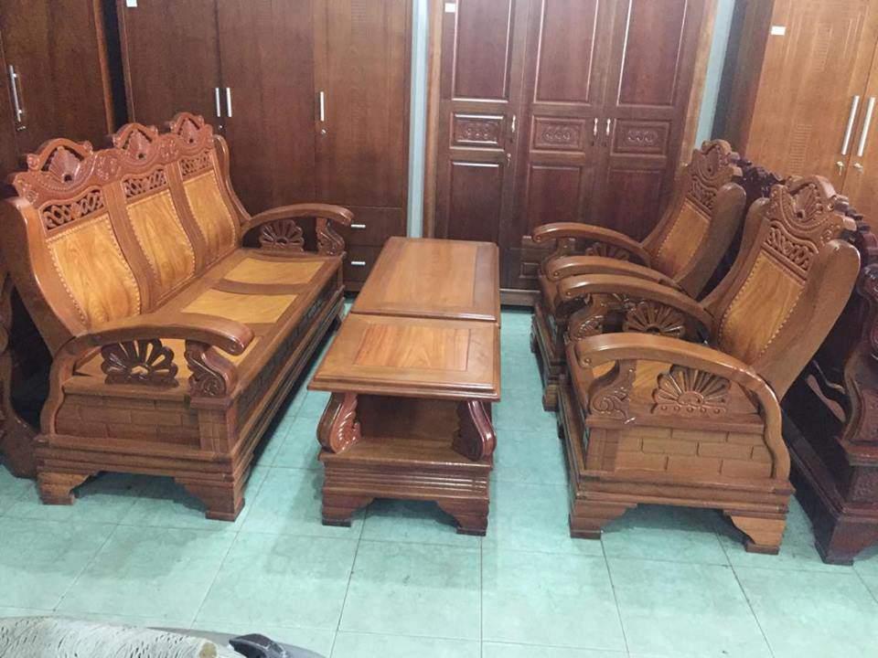 Mẫu bàn ghế gỗ căm xe - TC1425