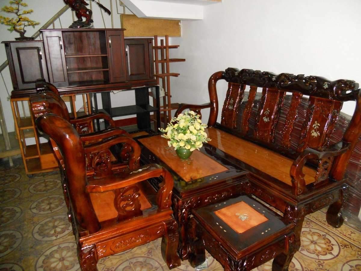 Mẫu bàn ghế gỗ căm xe - TC1427