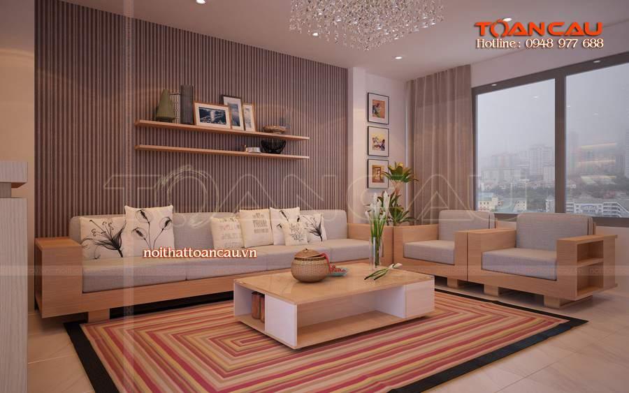 Bàn ghế gỗ cao su cho không gian nhà xinh nhất