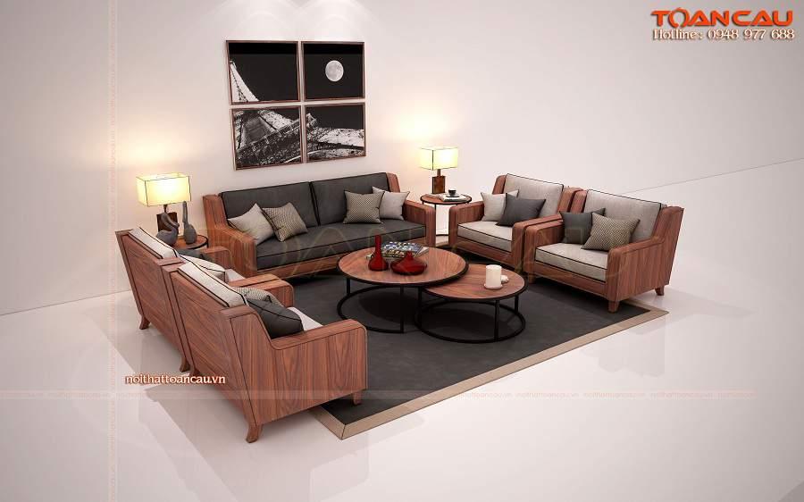 Bàn ghế gỗ gụ đẹp - TC160