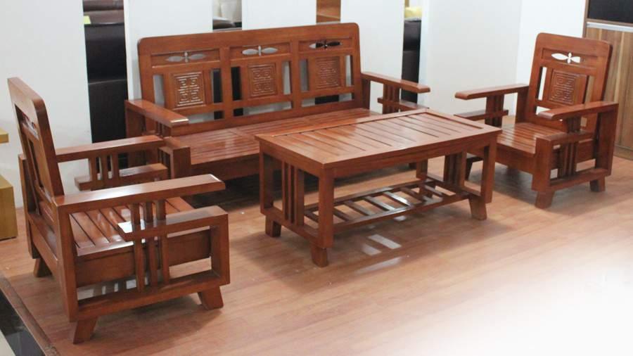 Bộ bàn ghế gỗ gụ TC17131