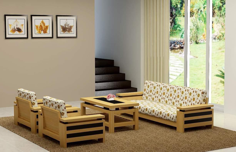 Bộ bàn ghế gỗ gụ TC17132