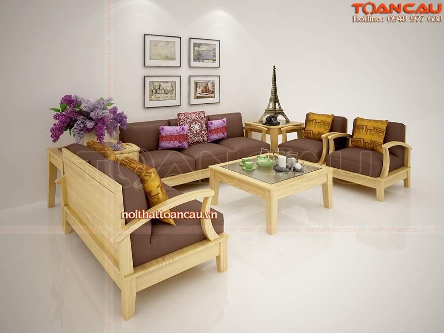 Bộ bàn ghế gỗ gụ TC17135