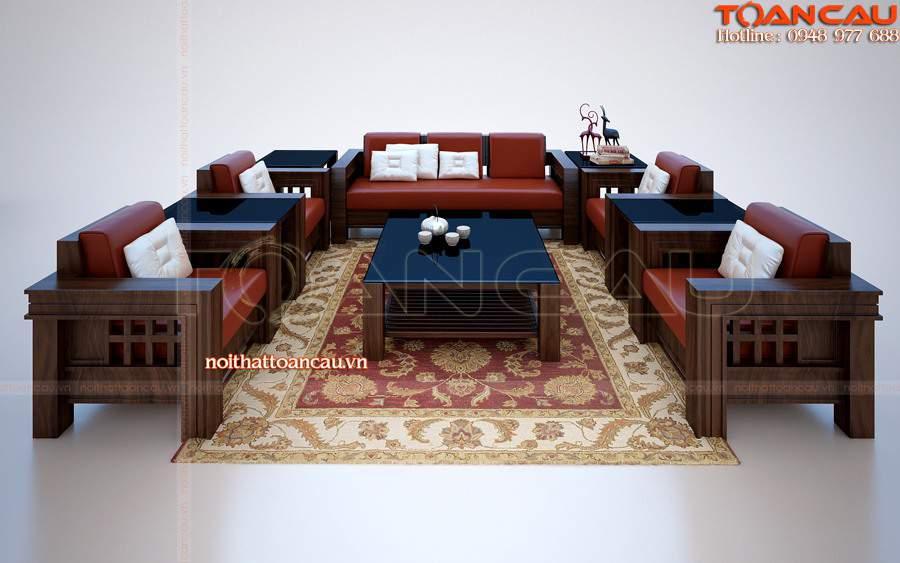 Bàn ghế gỗ hương TC108