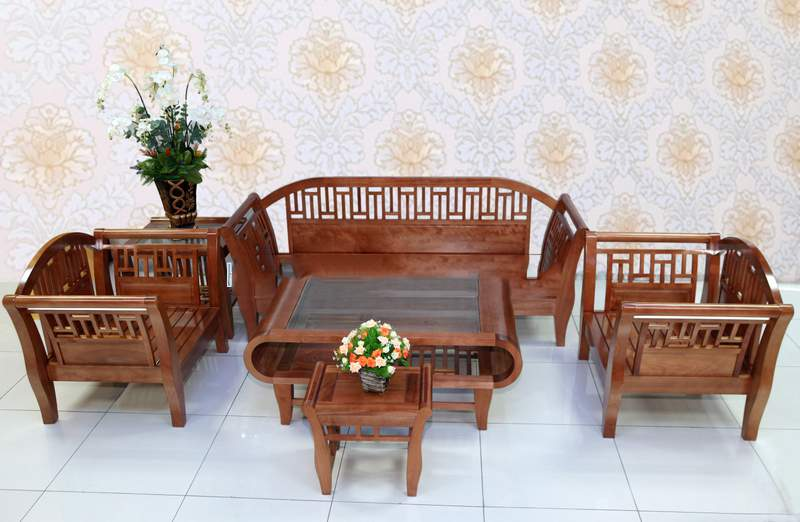 Mẫu bàn ghế gỗ mun – TC19122