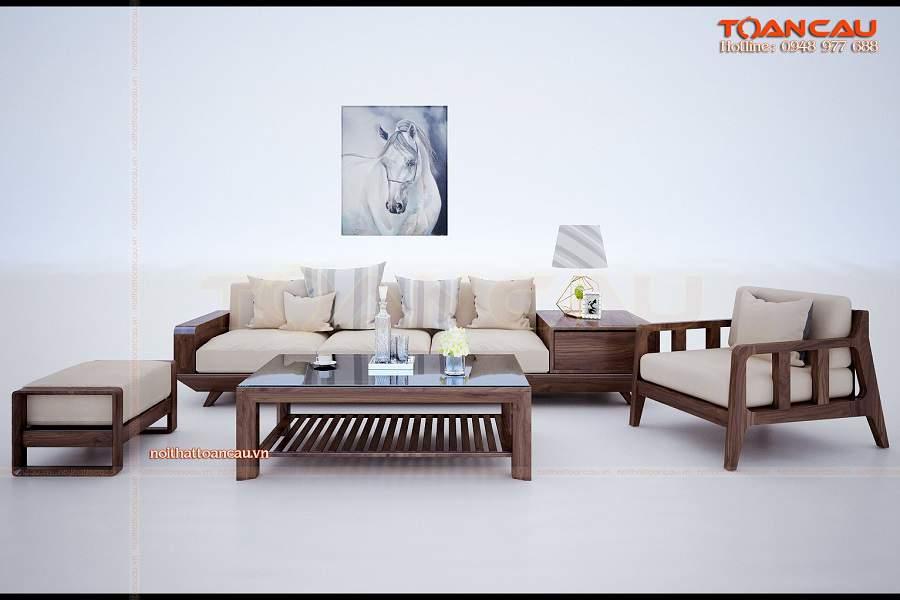 Nội thất bằng gõ óc chó phù hợp với nhiều không gian nội thất khác nhau